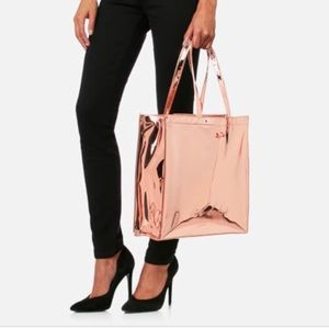 TED Baker Jencon Mirrored Tote